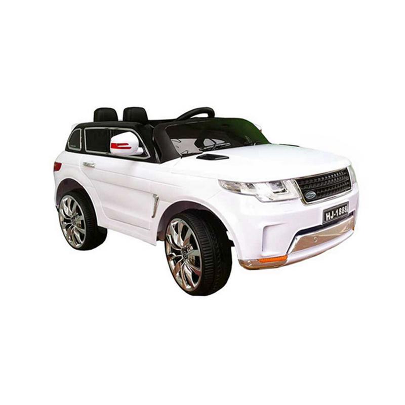 Ηλεκτροκίνητο παιδικό αυτοκίνητο τύπου Land Rover 12v Λευκό με με τηλεκοντρόλ, ελαστικά HJ1888