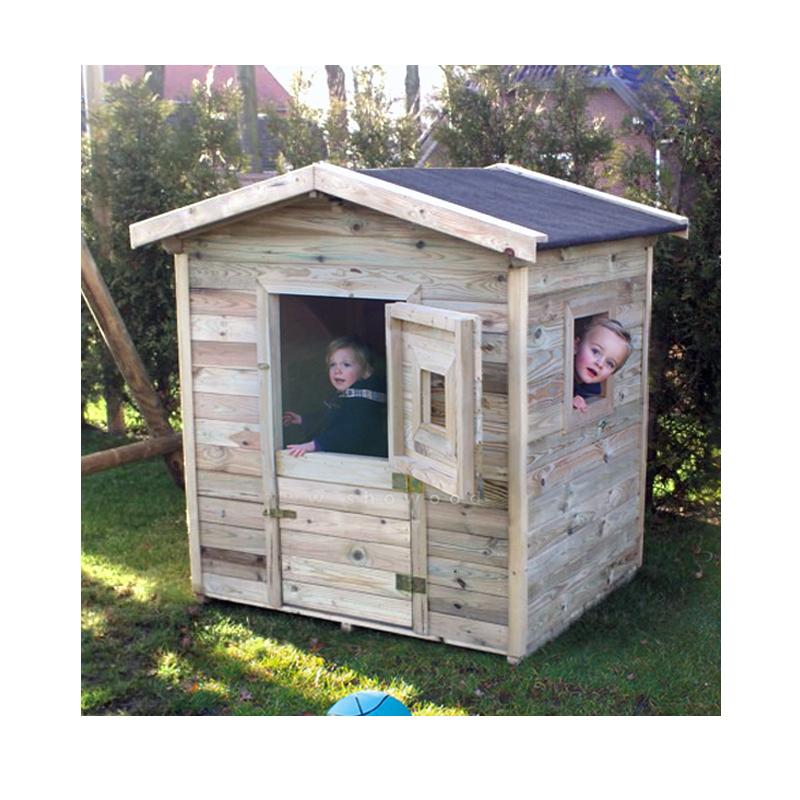 Ξύλινο Παιδικό Σπίτι 155(Y) x 140 x 105cm