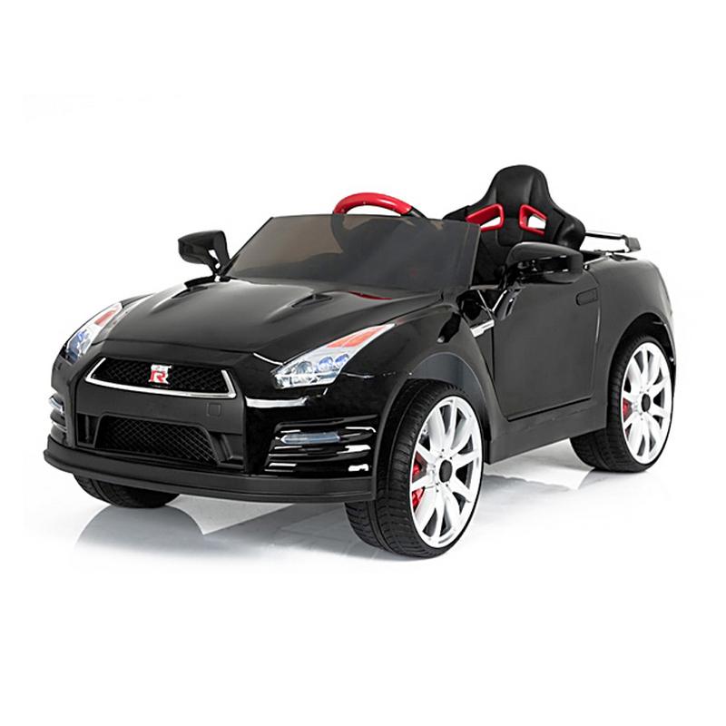 ScorpionWheels Ηλεκτροκίνητο παιδικό αυτοκίνητο Licenced Nissan GT-R R35 12v με τηλεκοντρόλ Μαύρο 5243800