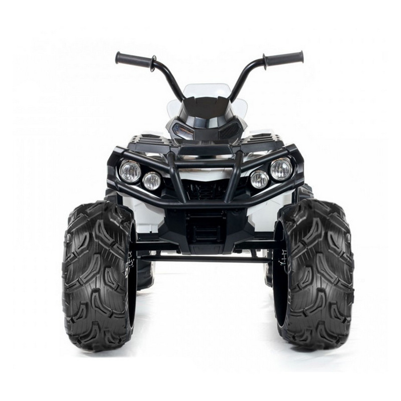 ScorpionWheels Ηλεκτροκίνητη παιδικη μοτοσυκλέτα / Γουρούνα 12V Λευκή με τηλεκατεύθυνση 5245006