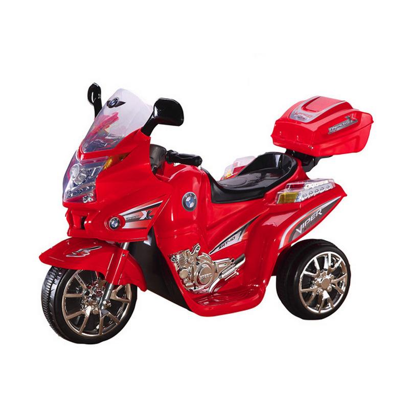 ScorpionWheels Ηλεκτροκίνητη παιδικη μοτοσυκλέτα / μηχανή  6v με τηλεκοντρόλ μπλε 5245019