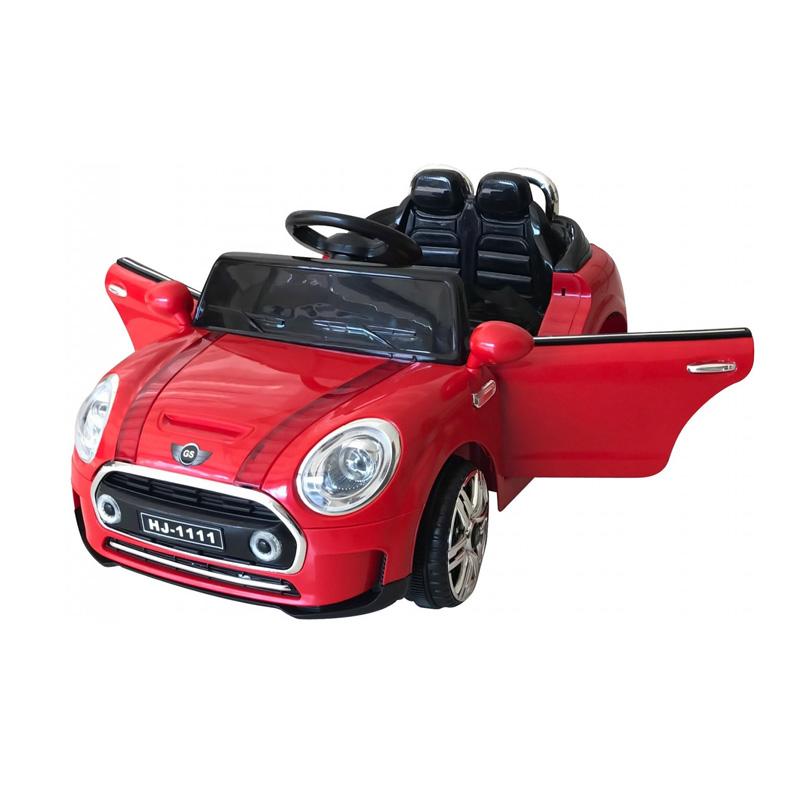ScorpionWheels Ηλεκτροκίνητο παιδικό αυτοκίνητο τύπου Mini Cooper Κόκκινο με τηλεκοντρόλ 12v 5246011
