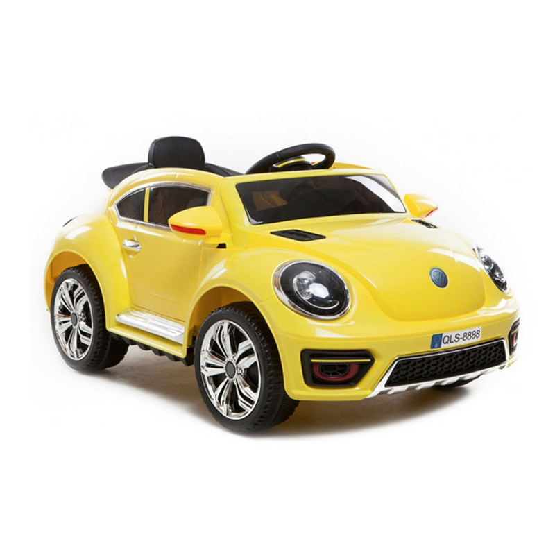 ScorpionWheels Ηλεκτροκίνητο παιδικό αυτοκίνητο τύπου Volkswagen Beetle 12v με τηλεκοντρόλ κίτρινο 5246020