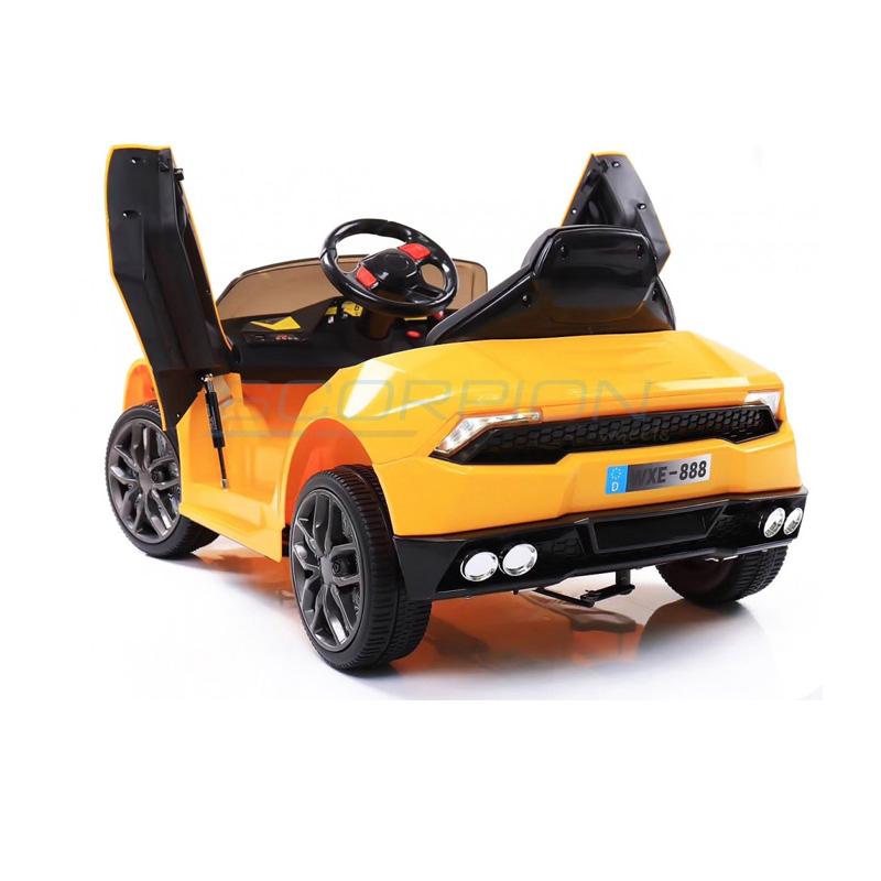 ScorpionWheels Ηλεκτροκίνητο παιδικό αυτοκίνητο τύπου Lamborghini  12v με τηλεκοντρόλ κίτρινο 5246019