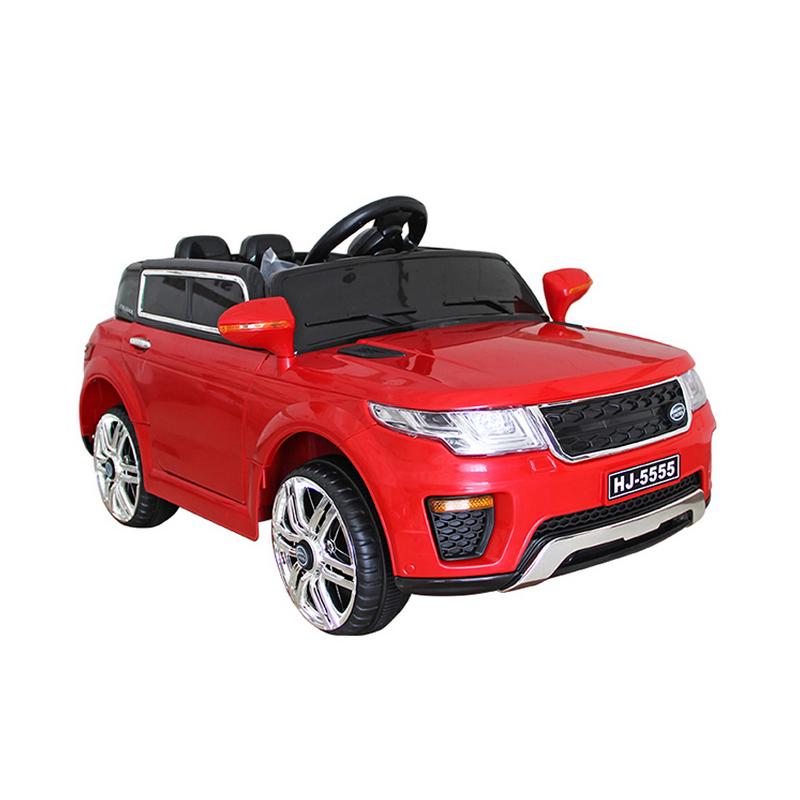 Ηλεκτροκίνητο παιδικό αυτοκίνητο τύπου Range Rover Κόκκινο 12v με τηλ/ρολ & λειτουργία Relax HJ5555