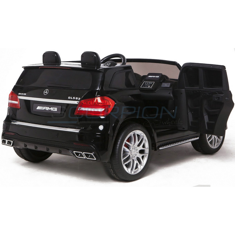 ScorpionWheels Διθέσιο Ηλεκτροκίνητο παιδικό αυτοκίνητο Mercedes GLS S63 Licenced 4X4 μαύρο με τηλεκοντρόλ 5248063