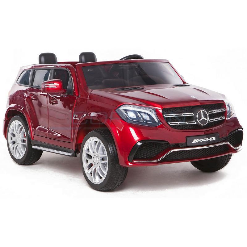 ScorpionWheels Διθέσιο Ηλεκτροκίνητο παιδικό αυτοκίνητο Mercedes GLS S63 Licenced 4X4 Μπορντό με τηλεκοντρόλ 5248063