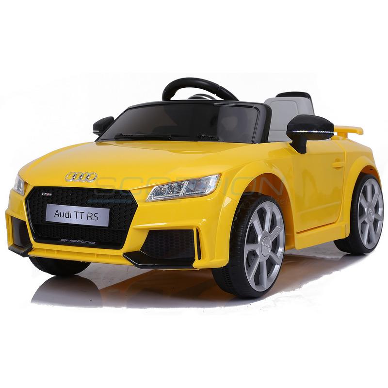 ScorpionWheels Ηλεκτροκίνητο παιδικό αυτοκίνητο Licenced Audi TT RS 12v με τηλεκοντρόλ Κίτρινο 5246024
