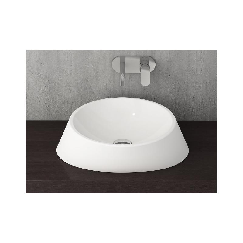 Νιπτήρας μπάνιου επικαθήμενος Bocchi Venezia  Ø 56cm λευκός