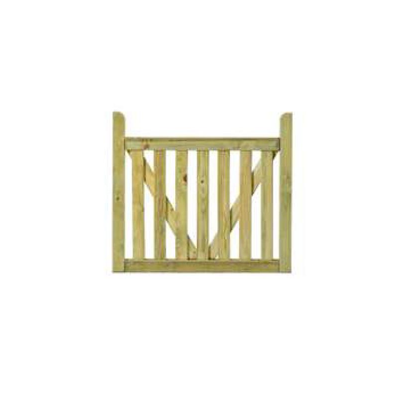 Πόρτα για Ξύλινο Φράχτη Μονακό εμποτισμένη