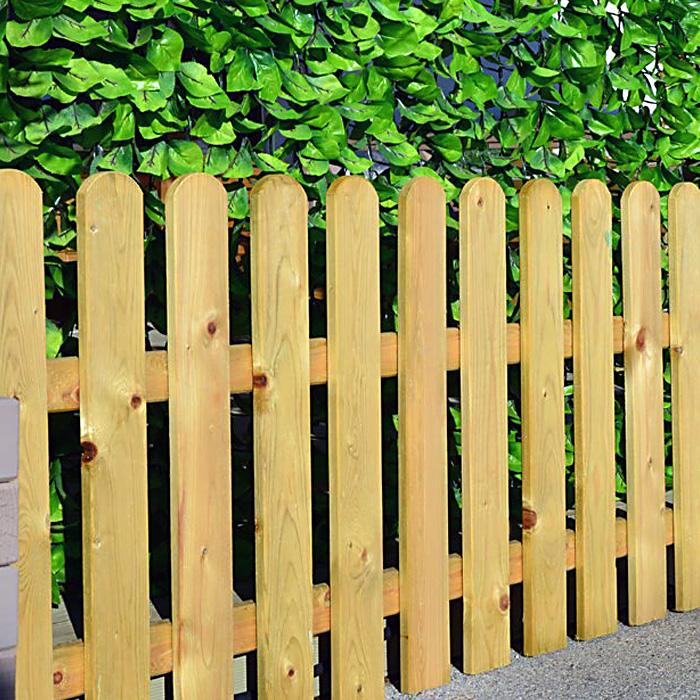 Πόρτα για Ξύλινο Φράχτη Λεία Τάβλα εμποτισμένο