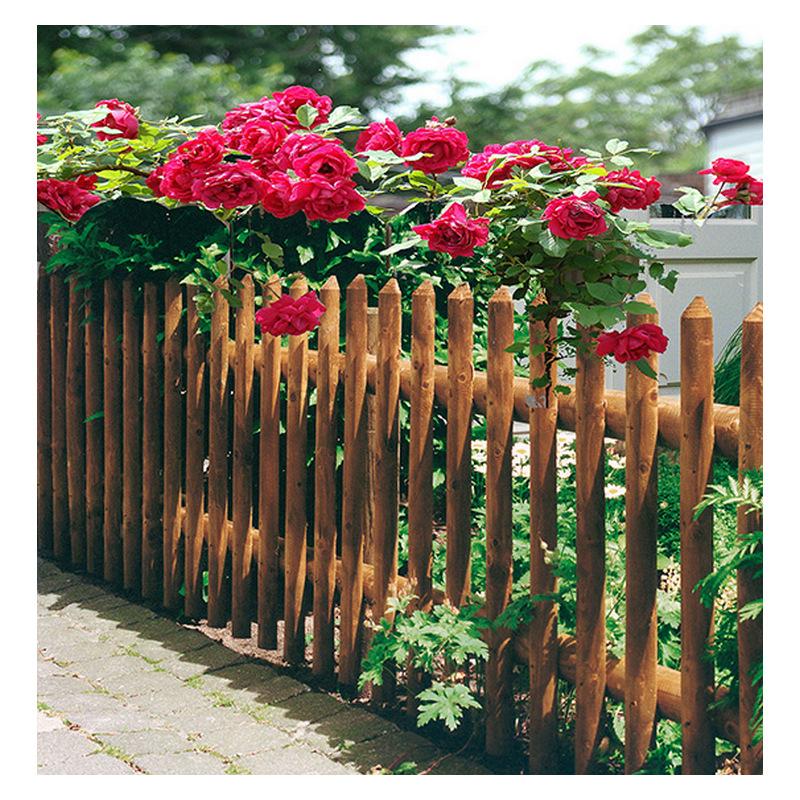 Ξύλινος Φράχτης με Μισόξυλο εμποτισμένος