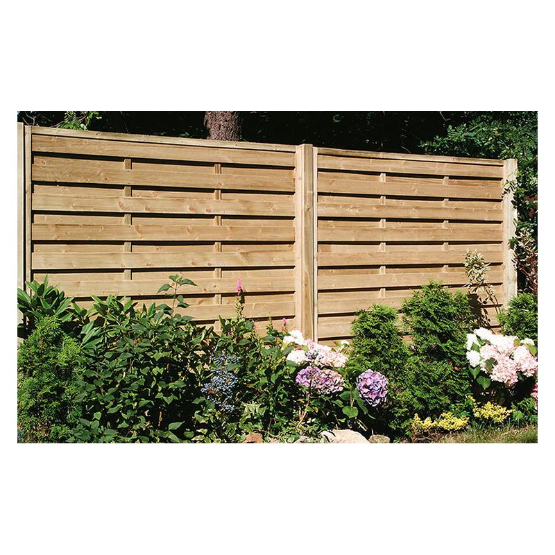 Πόρτα για κλειστό ξύλινο Πάνελ Περίφραξης εμποτισμένο
