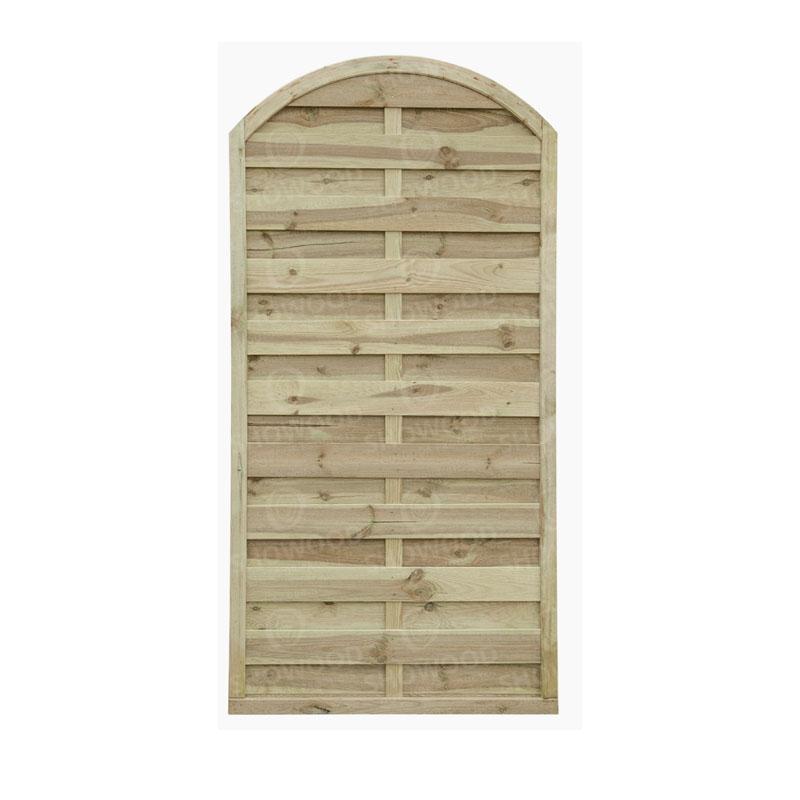 Πόρτα για κλειστό ξύλινο Πάνελ  Αψίδα εμποτισμένο