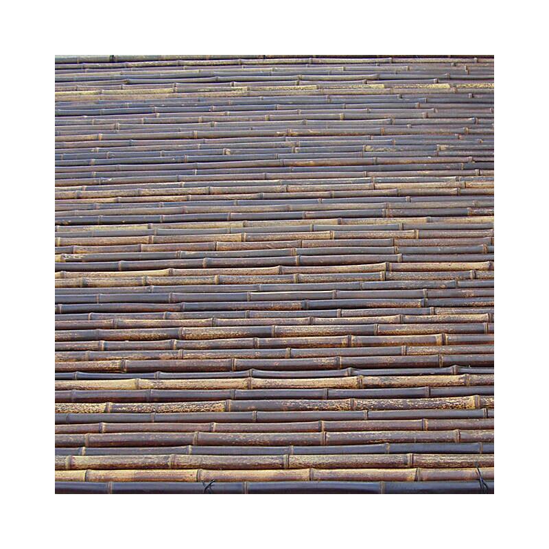 Μπαμπού - Bamboo Mαύρο  Ø 18-24 με περαστό σύρμα