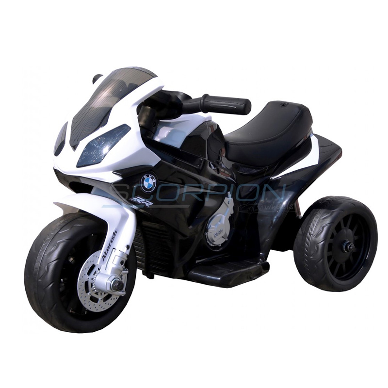 SkorpionWheels Ηλεκτροκίνητη παιδικη μοτοσυκλέτα / μηχανή BMW S1000RR 6v Μαύρη 5245022