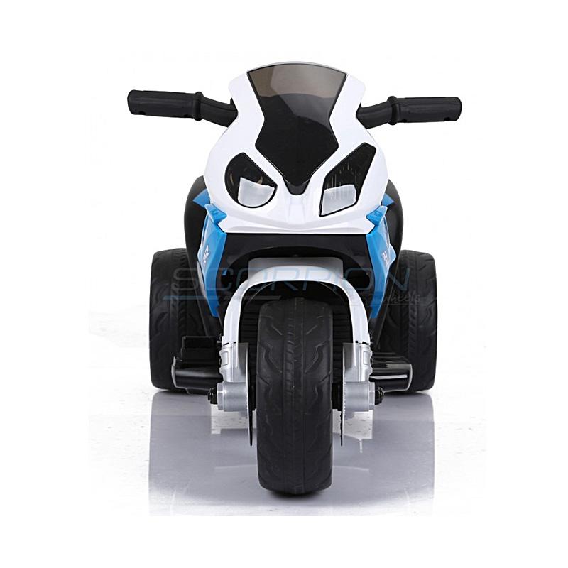 SkorpionWheels Ηλεκτροκίνητη παιδικη μοτοσυκλέτα / μηχανή BMW S1000RR 6v Μπλε 5245022