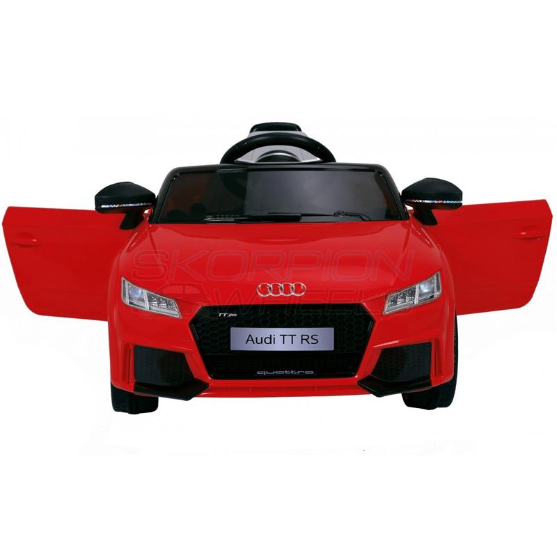 ScorpionWheels Ηλεκτροκίνητο παιδικό αυτοκίνητο Licenced Audi TT RS 12v με τηλεκοντρόλ Κόκκινο 5246024
