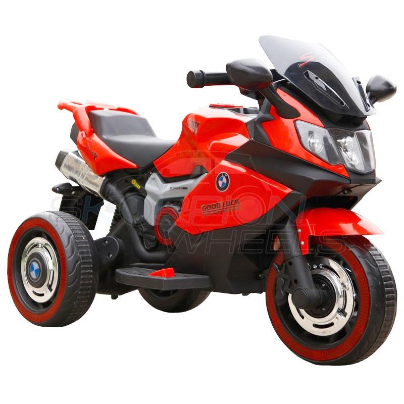 ScorpionWheels Ηλεκτροκίνητη παιδικη μοτοσυκλέτα τύπου BMW 6v με τηλεκοντρόλ κόκκινη 5245051
