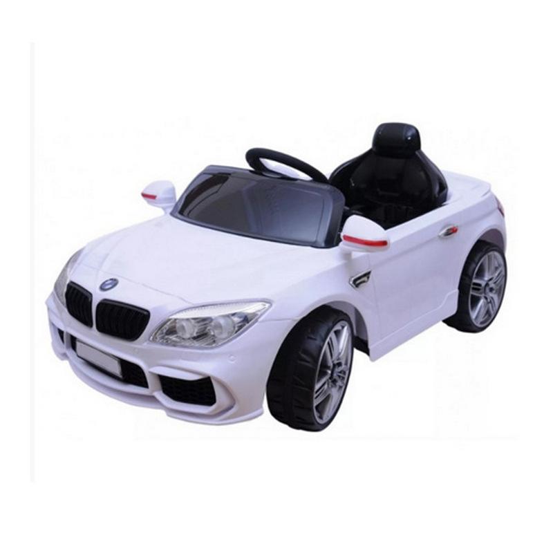 ScorpionWheels Ηλεκτροκίνητο παιδικό αυτοκίνητο τύπου BMW M4 12v με τηλ/ρόλ & ελαστικά λευκό 5246010