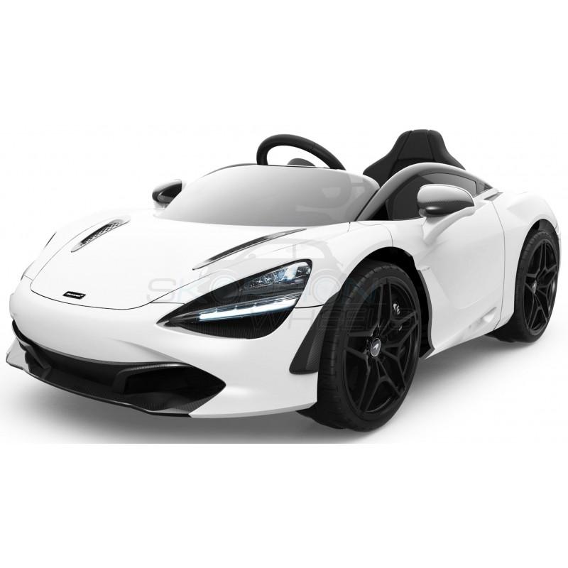 ScorpionWheels Ηλεκτροκίνητο παιδικό αυτοκίνητο Licenced McLAren 720S 12v με τηλεκοντρόλ Λευκό 5246034