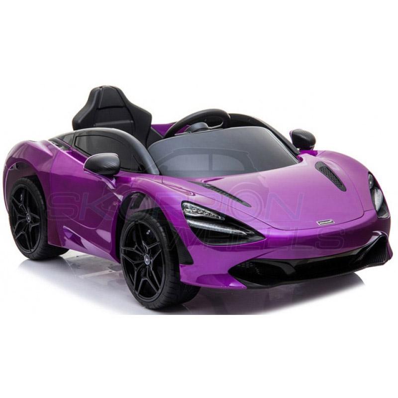 ScorpionWheels Ηλεκτροκίνητο παιδικό αυτοκίνητο Licenced McLAren 720S 12v με τηλεκοντρόλ Μωβ 52460341