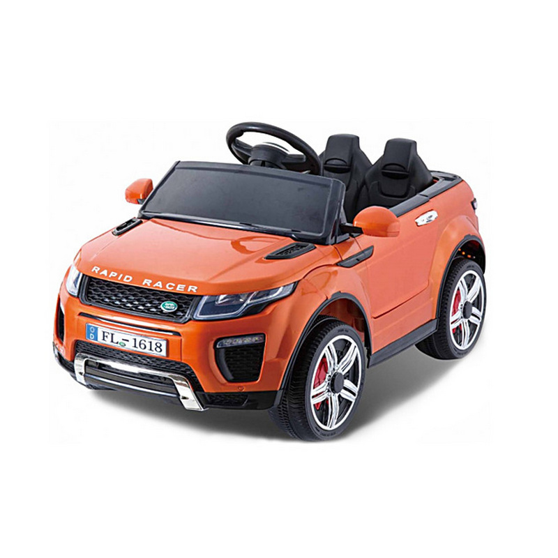 ScorpionWheels Ηλεκτροκίνητο παιδικό αυτοκίνητο τύπου Land Rover 12v με τηλεκοντρόλ πορτοκαλί 5246044