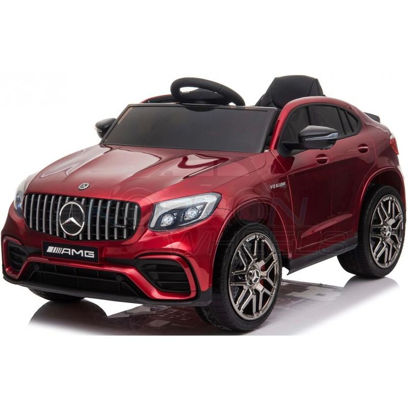ScorpionWheels Ηλεκτροκίνητο παιδικό αυτοκίνητο Licenced Mercedes GLC 63S AMG 12v με τηλεκοντρόλ Μπορντό 52460621