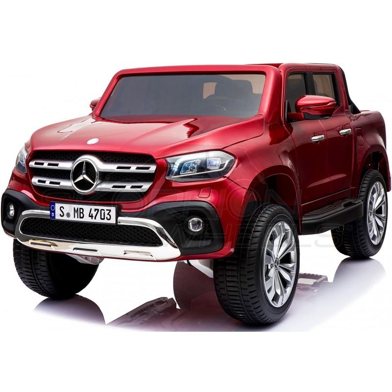 ScorpionWheels Ηλεκτροκίνητο παιδικό αυτοκίνητο Licenced Mercedes 12v  με τηλ/τρόλ και Οθόνη Μπορντό 52470101