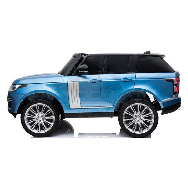 ScorpionWheels Ηλεκτροκίνητο διθέσιο παιδικό αυτοκίνητο Licenced Range Rover 12v με τηλ/τρόλ Μπλε 52470321