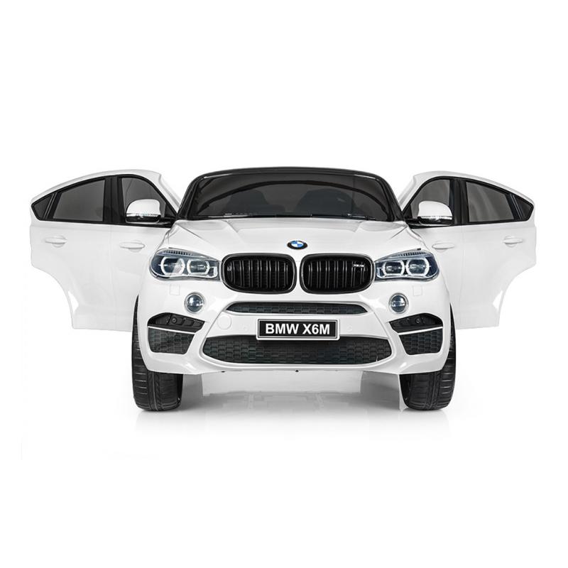 ScorpionWheels Ηλεκτροκίνητο παιδικό αυτοκίνητο Licenced BMW X6Μ Διθέσιο 12v με τηλ/ρόλ Λευκό 5248068