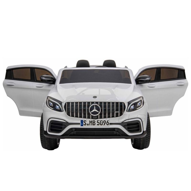 ScorpionWheels Ηλεκτροκίνητο παιδικό αυτοκίνητο Licenced Mercedes GLC 63S AMG 12v διθέσιο με τηλ/τρόλ Λευκό 5248065