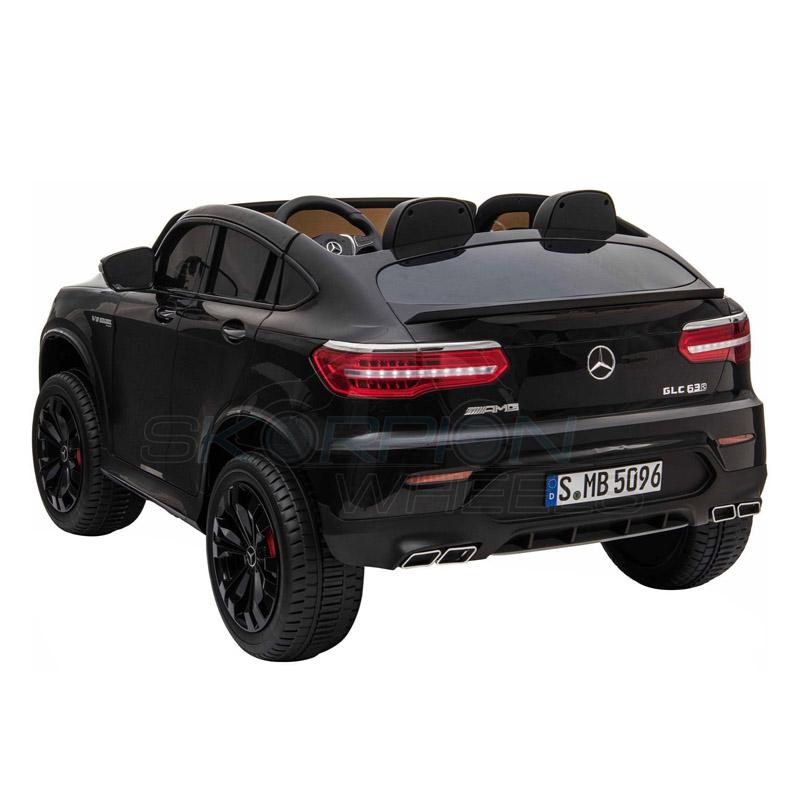 ScorpionWheels Ηλεκτροκίνητο παιδικό αυτοκίνητο Licenced Mercedes GLC 63S AMG 12v διθέσιο με τηλ/τρόλ Μαύρο 5248065