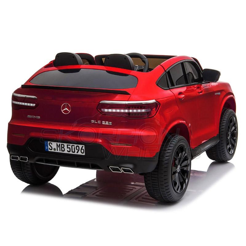ScorpionWheels Ηλεκτροκίνητο παιδικό αυτοκίνητο Licenced Mercedes GLC 63S AMG 12v διθέσιο με τηλ/τρόλ Κόκκινο 5248065