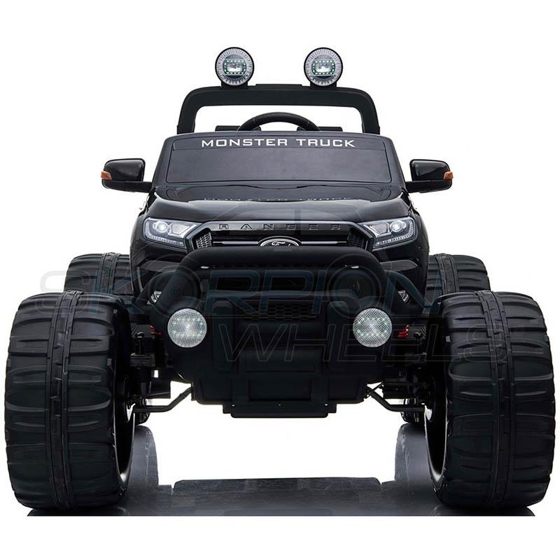 ScorpionWheels Ηλεκτροκίνητο διθέσιο παιδικό αυτοκίνητο Licenced Ford Ranger Monster 12v με τηλ/τρόλ Μαύρο 5247050