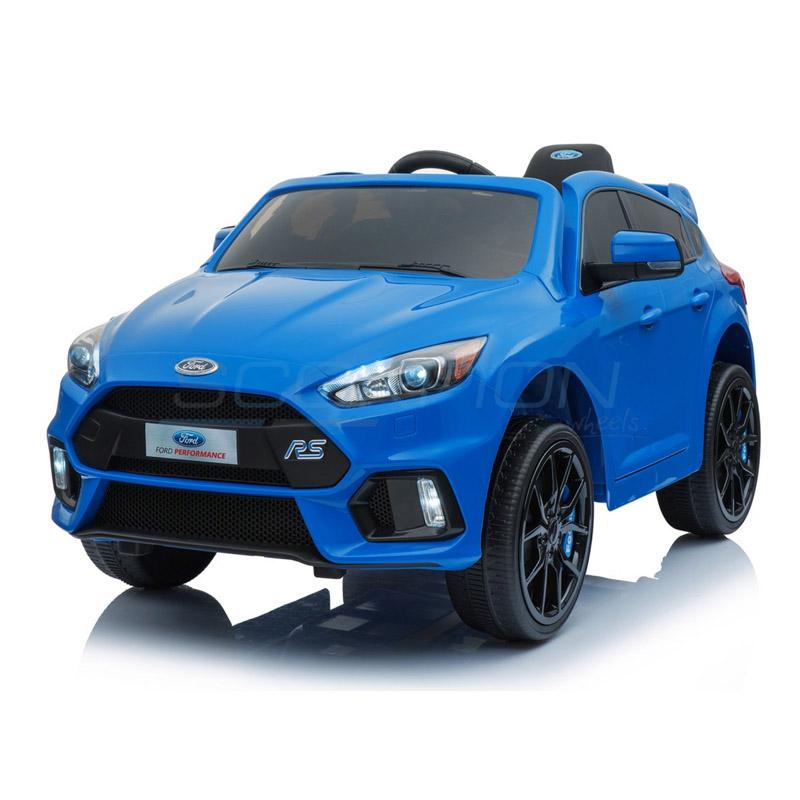 ScorpionWheels Ηλεκτροκίνητο παιδικό αυτοκίνητο Licenced Ford Focus12v με τηλεκοντρόλ  Μπλε 5246013