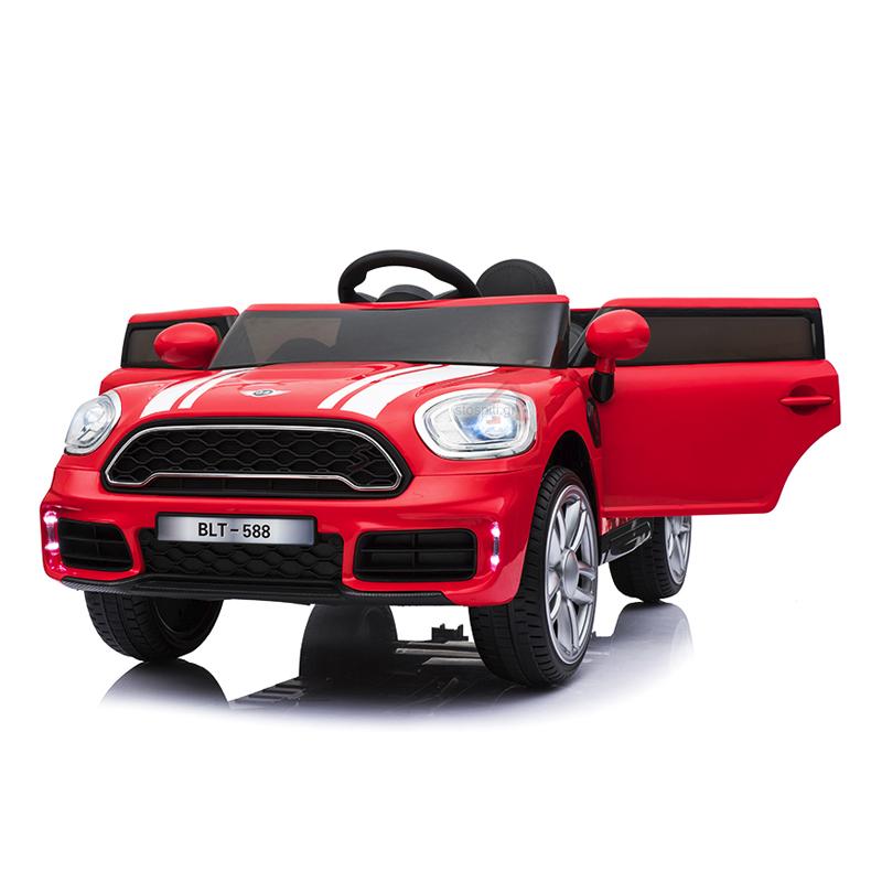 Ηλεκτροκίνητο παιδικό αυτοκίνητο τύπου MINI  Countryman S  κόκκινο 12V με τηλεκοντρόλ  HJ-7777X