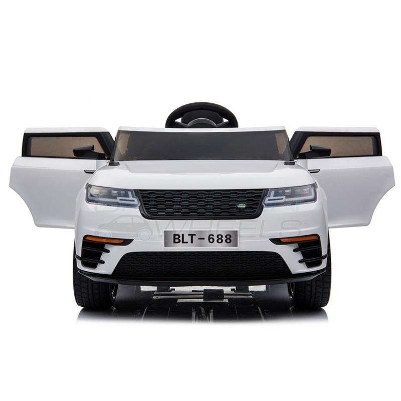 SkorpionWheels Ηλεκτροκίνητο παιδικό αυτοκίνητο τύπου Range Rover 12v με τηλ/ρόλ και οθόνη video Ροζ 52460541