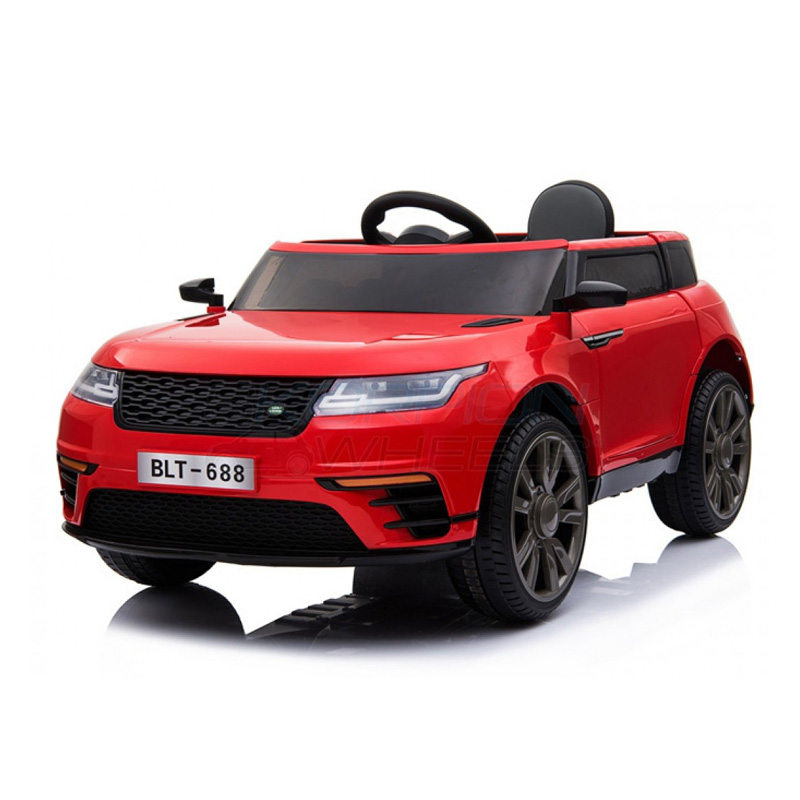 SkorpionWheels Ηλεκτροκίνητο παιδικό αυτοκίνητο τύπου Range Rover 12v με τηλ/ρόλ και οθόνη video Κόκκινο 52460541