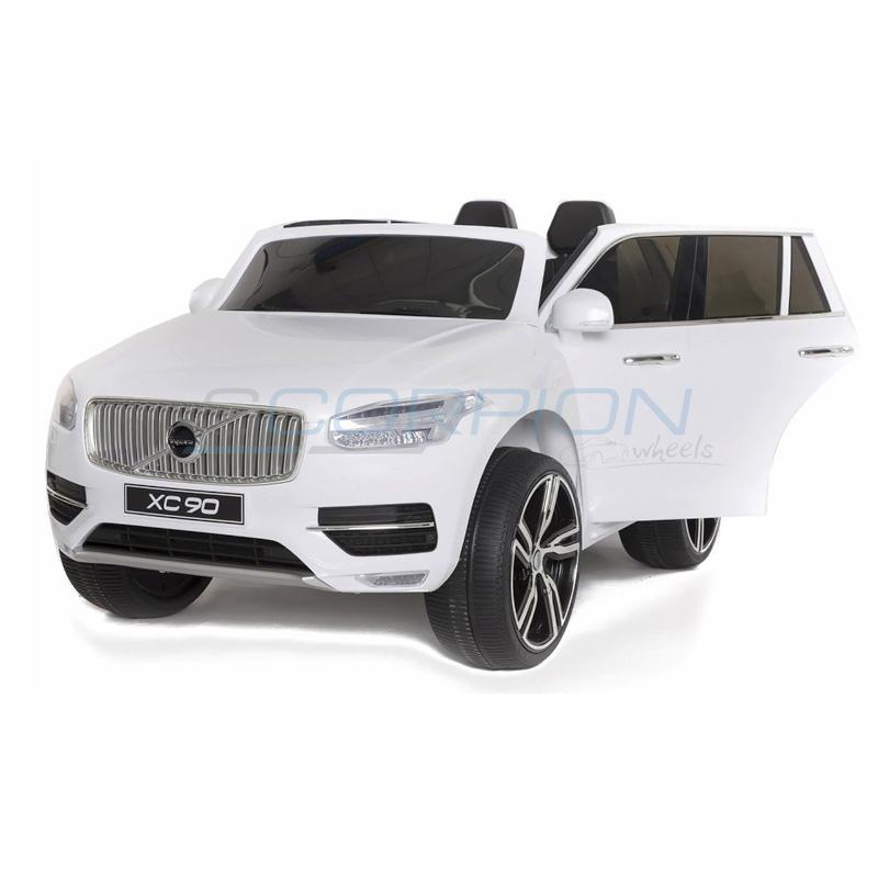 ScorpionWheels Ηλεκτροκίνητο παιδικό αυτοκίνητο Licenced Volvo XC90 12v με τηλεκοντρόλ  Λευκό 5247091