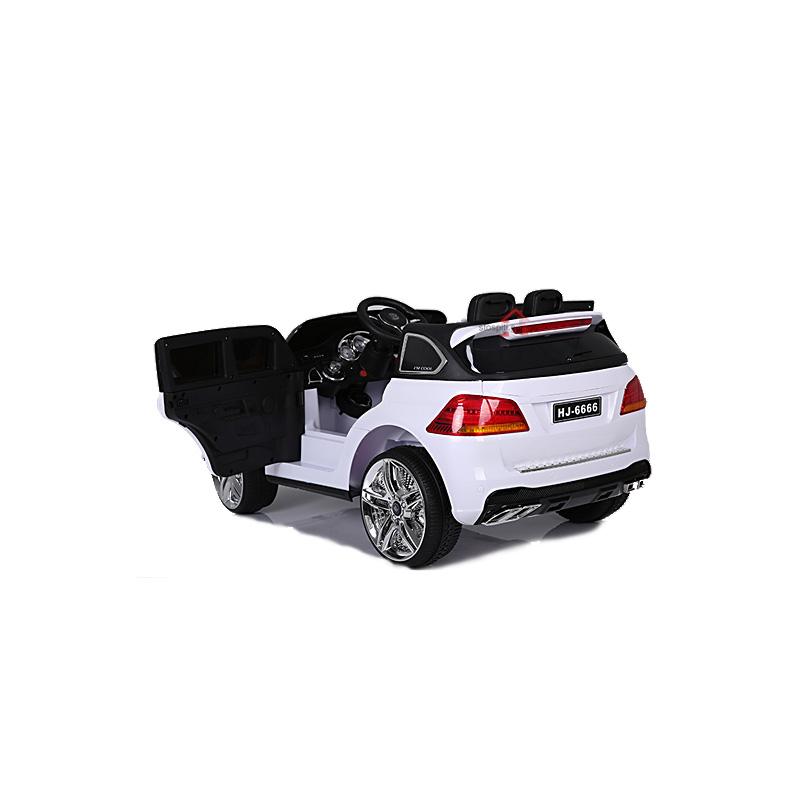 Ηλεκτροκίνητο παιδικό αυτοκίνητο τύπου Mercedes ML AMG63 12v Λευκό με λάστιχα τηλ/ρόλ HJ6666