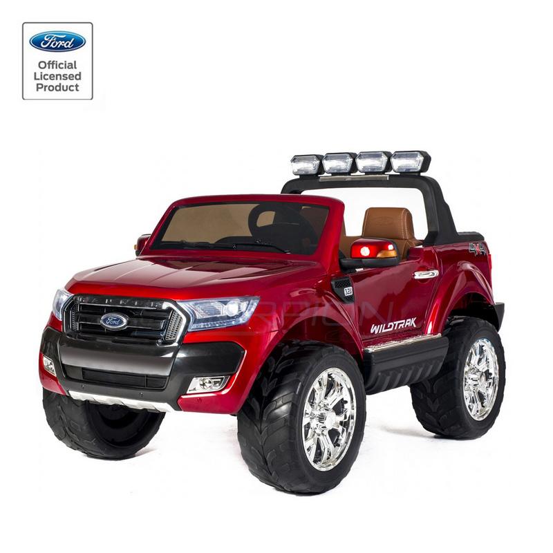ScorpionWheels Ηλεκτροκίνητο διθέσιο παιδικό αυτοκίνητο Licenced Ford Ranger 4X412v με τηλ/τρόλ κόκκινο 5247084
