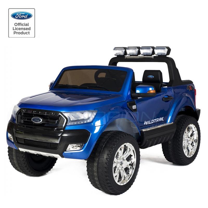ScorpionWheels Ηλεκτροκίνητο διθέσιο παιδικό αυτοκίνητο Licenced Ford Ranger 4X412v με τηλ/τρόλ μπλε 5247084