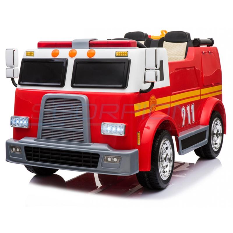 ScorpionWheels Ηλεκτροκίνητο παιδικό Πυροσβεστικό όχημα Fire Alert 12v με τηλ/ρόλ 5248011