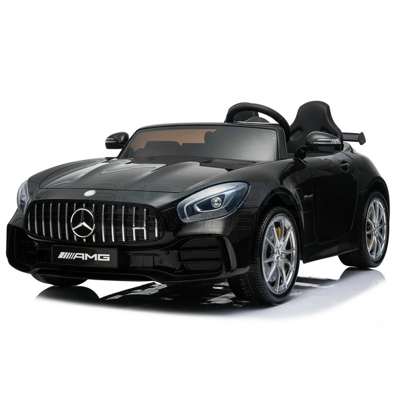 SkorpionWheels Ηλεκτροκίνητο παιδικό αυτοκίνητο Licenced Mercedes Benz GTR 12v με τηλ/ρόλ Μαύρο 5248098