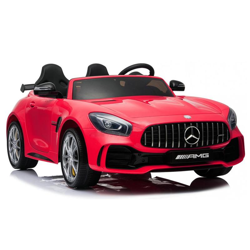 SkorpionWheels Ηλεκτροκίνητο παιδικό αυτοκίνητο Licenced Mercedes Benz GTR 12v με τηλ/ρόλ Κόκκινο 5248098