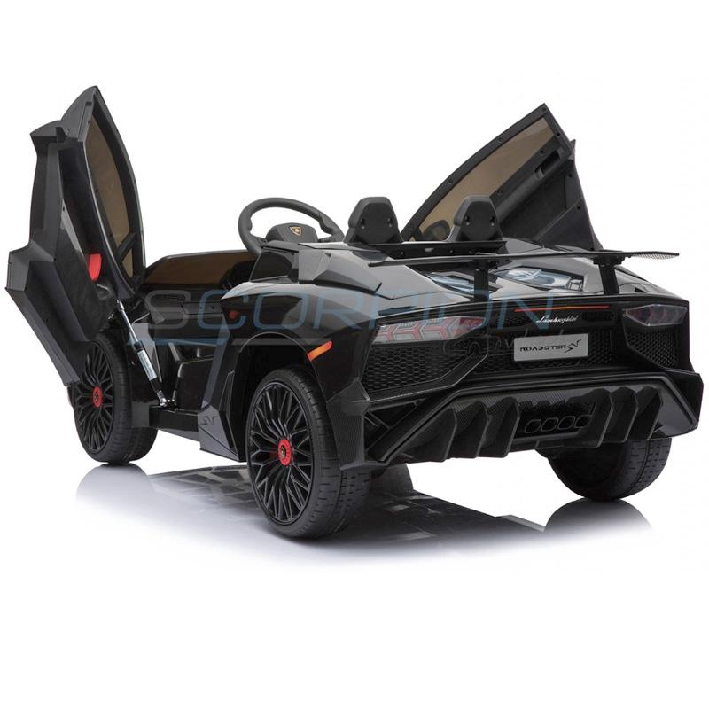 ScorpionWheels Ηλεκτροκίνητο παιδικό αυτοκίνητο Licenced Lamborghini 12v με τηλεκοντρόλ Λευκό 5246033