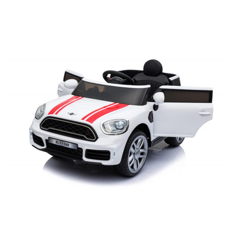 Ηλεκτροκίνητο παιδικό αυτοκίνητο τύπου MINI  Countryman S  Λευκό 12V με τηλεκοντρόλ  HJ-7777X