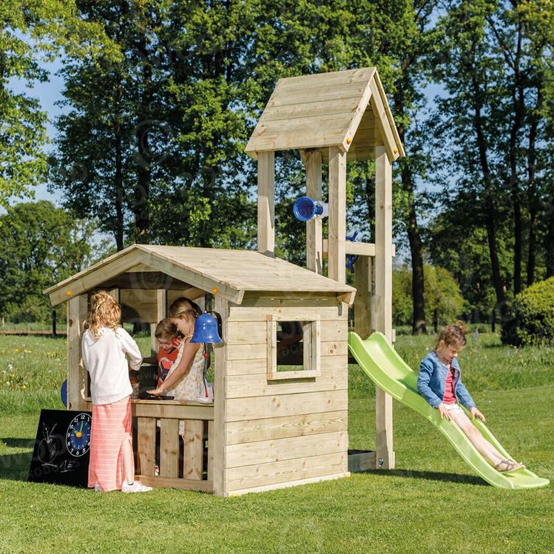 Ξύλινος Παιδικός Πύργος Bleu Rabbit  Lookout  60εκ