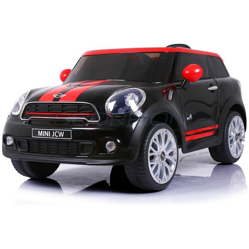 ScorpionWheels Ηλεκτροκίνητο παιδικό αυτοκίνητο  Mini Cooper Licensed 12v μαύρο με τηλ/ντρόλ  5246058